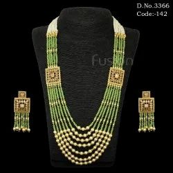 Ethnic Beaded Necklace Set