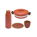 Combo Offer Cherry Cup Set / Bottle/ Handi With Handle/ Plate