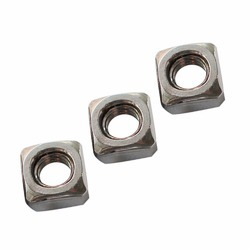 SS Square Nut, Diameter: M 3 to M 24