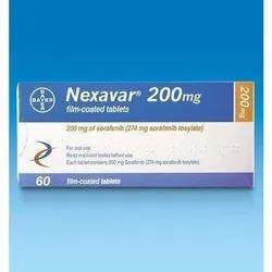 Nexavar 200 Mg Tablet