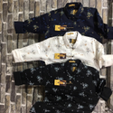 Men Printed Cotton Shirt, Size: 36-44