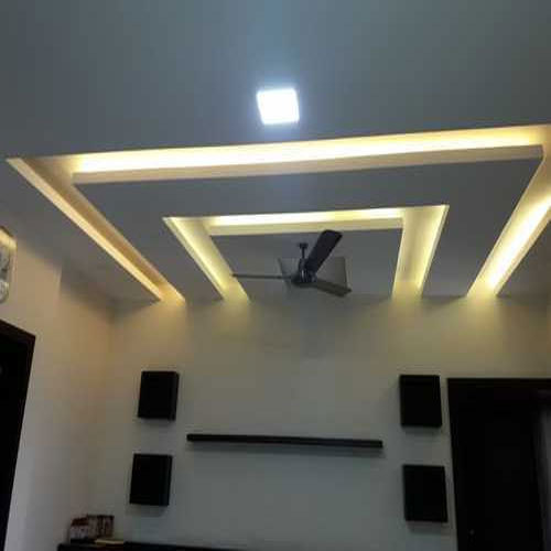 Living Room False Ceiling At Rs 55 /square Feet
