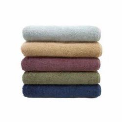 Plain Cotton Bath Towels