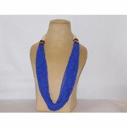 Blue Pottery Necklace