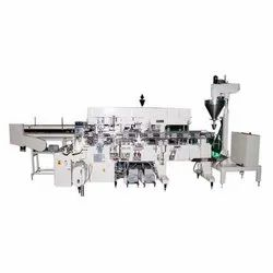 Powder Lined Carton Packing Machine
