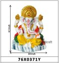 Decorative Religious God Ganesha Statue