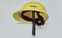 Safety Helmet Ratchet Type Yellow