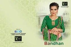 Designer Saree BANDHAN