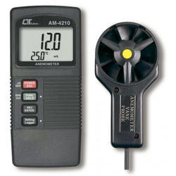Anemometer, Type K, J, Temp.