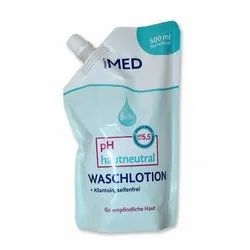 Hand Wash Packaging Pouch
