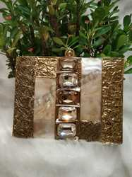 Marble Rectangular Clutch