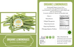 Seekanpalli Organic Lemongrass (Lemon Grass Dried) 200g