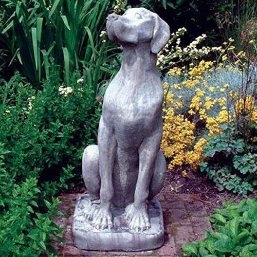 dog garden statue. Dog Garden Statue, Usage: Exterior Decor Statue H