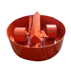 Roller Pan Concrete Mixer