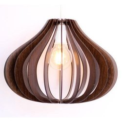 Designer Wooden Hanging Chandelier