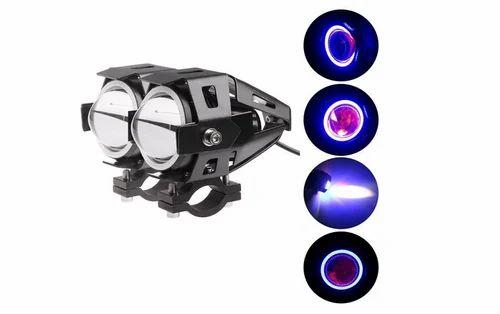 Pr U7 Fog Light Lamp Projector Lens For Bajaj Pulsar 150cc