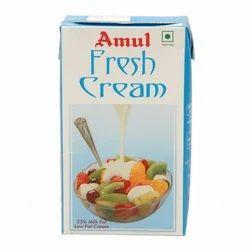 Amul 1 L Fresh Cream, Packaging: Tetra Pack