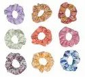 Hair Rope Cotton Scrunchies Bow Knot Elastic Hair Bands Hb1