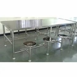 Polished Silver SS Canteen Table