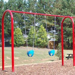 Children Playground Swing