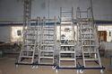 Industrial Aluminum Wide Step Ladder