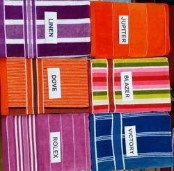 3060 Yarn Dyed Vellour Bath Towel