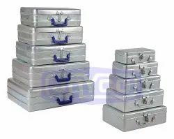 Metal Aluminium Packing Jewelry Box