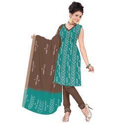 Bandhani Blue Print Suit