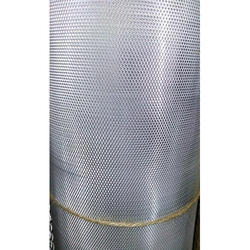Silver Aluminum Mosquito Jali, Shape: WEAVING, Packing Type: Roll