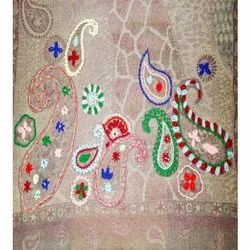 Hand Embroidery Wool Scarves