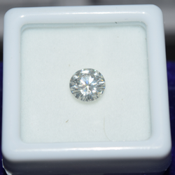 CVD Diamond 1.52ct K VS2 Round Brilliant Cut IGI Certified Stone