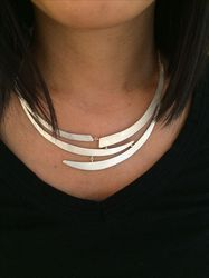 Fashion Popular Women Silver Minimalist Jewelry Necklace