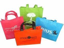 Multi Color PP Plastic Carry Bags, Handle Type: Loop Handle