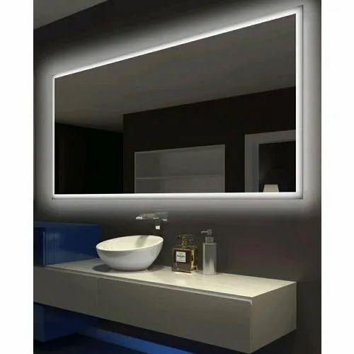 Gl Wall Mounted Bathroom Mirror Rs