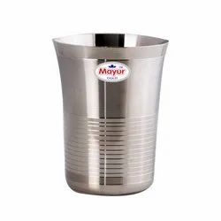 Kinley Stainless Steel Water Drinking Glass