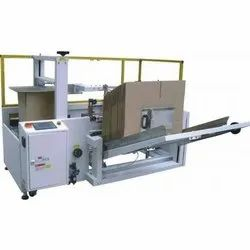 Carton Erector & Bottom Sealing Machine
