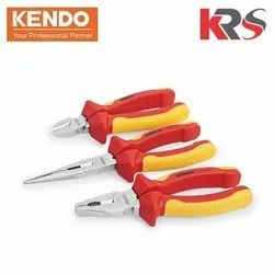 3 Pcs  Insulated VDE Plier Set