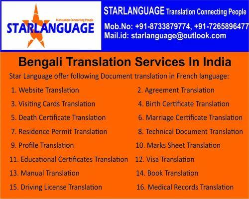 Translation Services Bengali Translation Provider Service Provider
