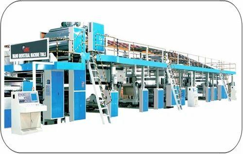Automatic Corrugated Board Making Plant - Double Baker Machine