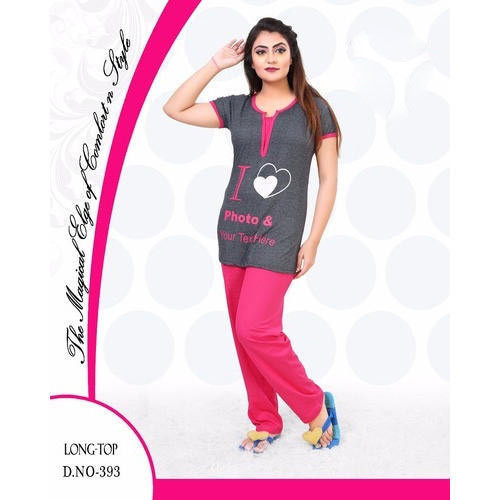 3974471d87 Ladies Printed Stylish Night Suit, Size: L - XXL, Rs 350 /piece   ID ...