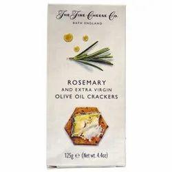 Rosemary Crackers 125 GM, Packaging Type: Box