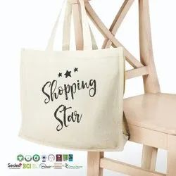 Manufacturer India Reusable Cotton Tote Bag