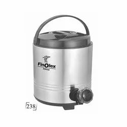 Stainless Steel 238 Finolex Promotional Water Jug, For Home, Packaging Type: Box