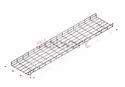 SS 304 Wiremesh Cable Tray