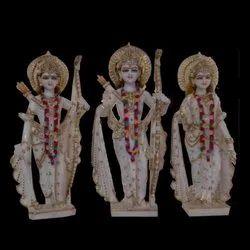 Ram Darbar Seeta Marble Statues