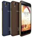 Karbonn Aura 4G Dual Sim Phone Coffee Color