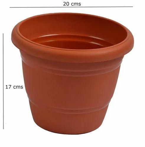 Bazodo 8 inch Plastic Pot