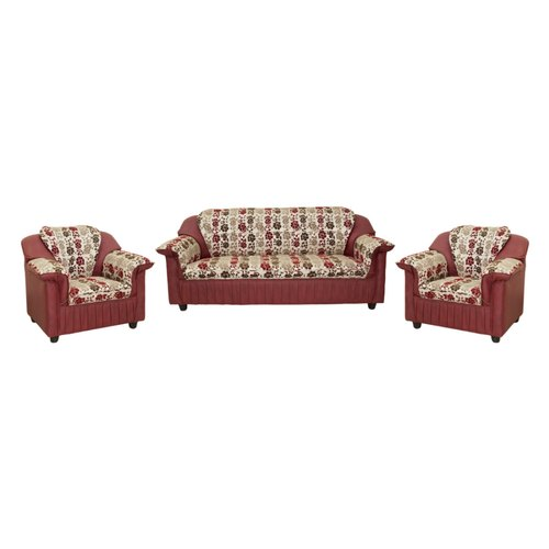 5 Seater SOFA SET PU MINI CLOTH