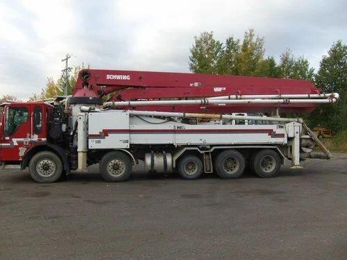 Concrete Boom Pump 36 meter On Rent