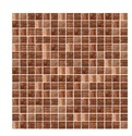 Red Random Mix Glass Mosaic Tiles